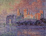 Paul Signac Impression Figure of Palace
