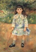 Child with a Whip, Pierre Auguste Renoir