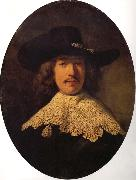 REMBRANDT Harmenszoon van Rijn Young Man With a Moustache oil painting reproduction