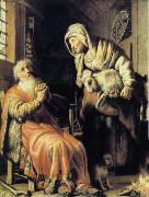 Tobit Accuses Anna of Stealing the Kid