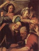 Christ Driving the Money-changers from the Temple, REMBRANDT Harmenszoon van Rijn