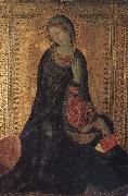 Simone Martini Madonna of the Annunciation oil painting reproduction