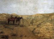 Rancher at the desolate field, Thomas Eakins