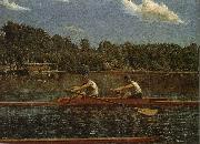 Biglin Brother-s Match, Thomas Eakins