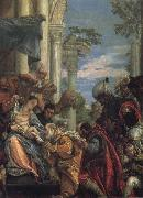 The Birth of St John the Baptist, Tintoretto