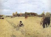 Valentin Serov October in Domotkanovo oil painting reproduction