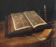 Still Life with Bible (nn04), Vincent Van Gogh