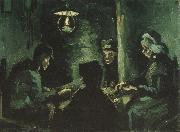 Four Peasants at a Meal (nn04), Vincent Van Gogh