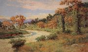 William Lees Judson Arroyo Seco with Bridge oil painting