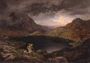 Adrian Ludwig Richter Pond in he Riesengebirge