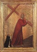 Barna da Siena Christ Bearing the Cross oil painting