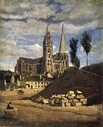 Corot Camille The Cathedral of market analyses