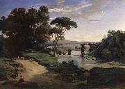 Corot Camille The bridge of Narni.