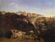Corot Camille Volterra oil painting reproduction