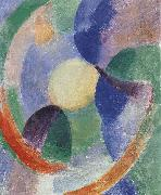 Delaunay, Robert Cyclotron-s shape Moon oil painting reproduction