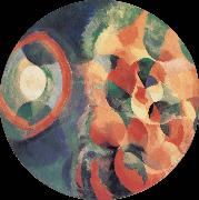 Delaunay, Robert Cyclotron-s shape Sun and Moon oil painting reproduction