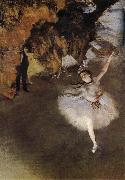 Playact, Edgar Degas