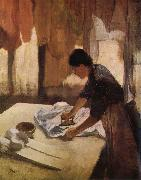 Worker, Edgar Degas