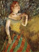 New Singer, Edgar Degas