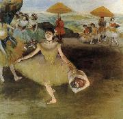 Edgar Degas Curtain call oil painting reproduction
