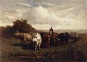 Edward Mitchell Bannister Untitled oil painting reproduction