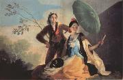 Francisco Goya The Parasol oil painting reproduction