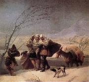 Francisco Goya Winter oil painting reproduction
