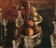 Still life, Gustave Caillebotte
