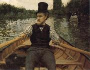 Sail meeting, Gustave Caillebotte
