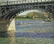 Gustave Caillebotte Bridge oil painting reproduction