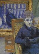 Gustave Caillebotte Portrait oil painting reproduction