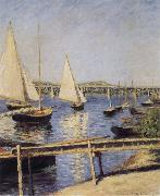 Sailboat, Gustave Caillebotte