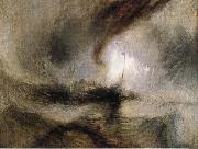 Snow Storm-Steam-Boat off a Harbour-s Mouth, J.M.W. Turner
