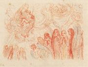 James Ensor The Adoration of the Virgin oil painting reproduction