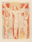 James Ensor Christ Crucified with Two Thieves oil painting reproduction