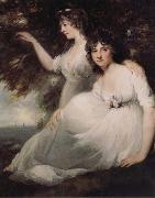John Hoppner The Ladies Sarah and Catherine Bligh oil painting reproduction