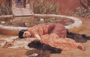 Does He Love me, John William Godward