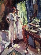 Konstantin Korovin Beside the open window