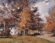 Oliver Dennett Grover Autumn Afternoon oil painting