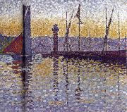 Paul Signac Lighthouse oil painting reproduction
