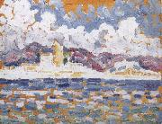 Paul Signac Morning oil painting reproduction