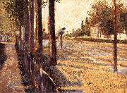 Paul Signac Forest oil painting artist