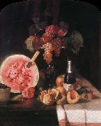 William Merritt Chase Still life and watermelon oil painting