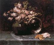 William Merritt Chase Rhododendron oil painting