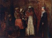 A Visit from the Old Mistress, Winslow Homer