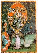 unknow artist Vision of the Throne of the Lord oil painting reproduction