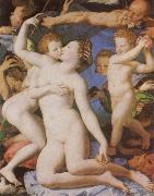 An Allegory with Venus and Cupid, Agnolo Bronzino