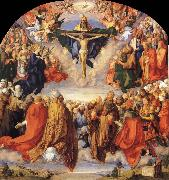 The All Saints altarpiece, Albrecht Durer
