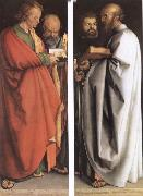 The Four Holy Men, Albrecht Durer