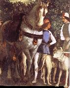 Servant with horse and dog, Andrea Mantegna